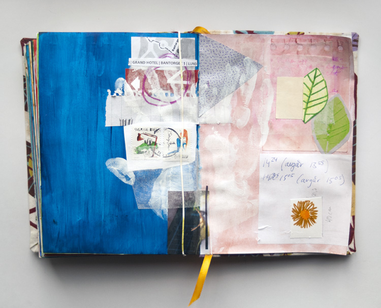 Art by Camilla Lekebjer. Visual journal: Starting out